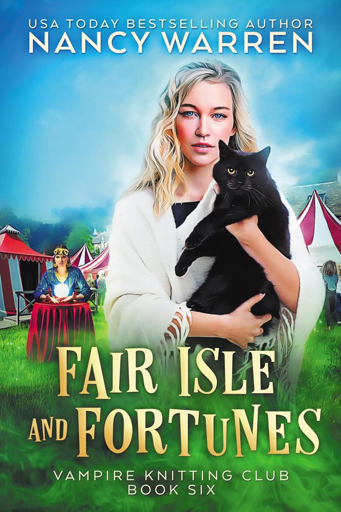 Fair Isle and Fortunes (Vampire Knitting Club Book 6)