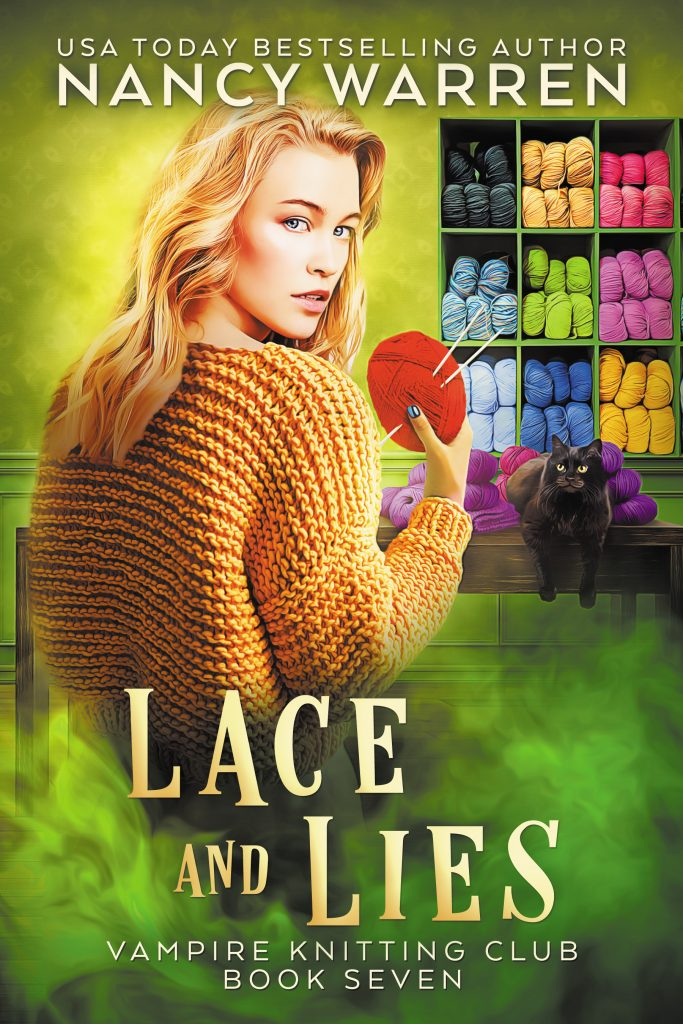 Lace and Lies (Vampire Knitting Club Book 7)
