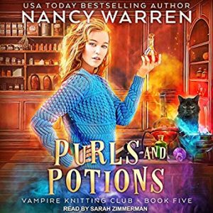 Purls and Potions (Book 5) Audiobook
