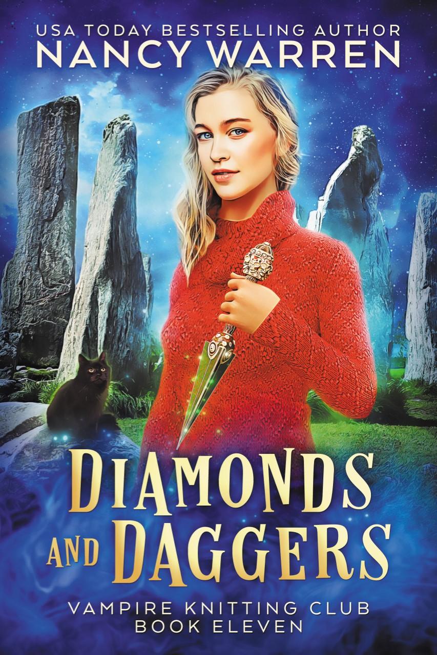 Diamonds and Daggers (Vampire Knitting Club Book 11)