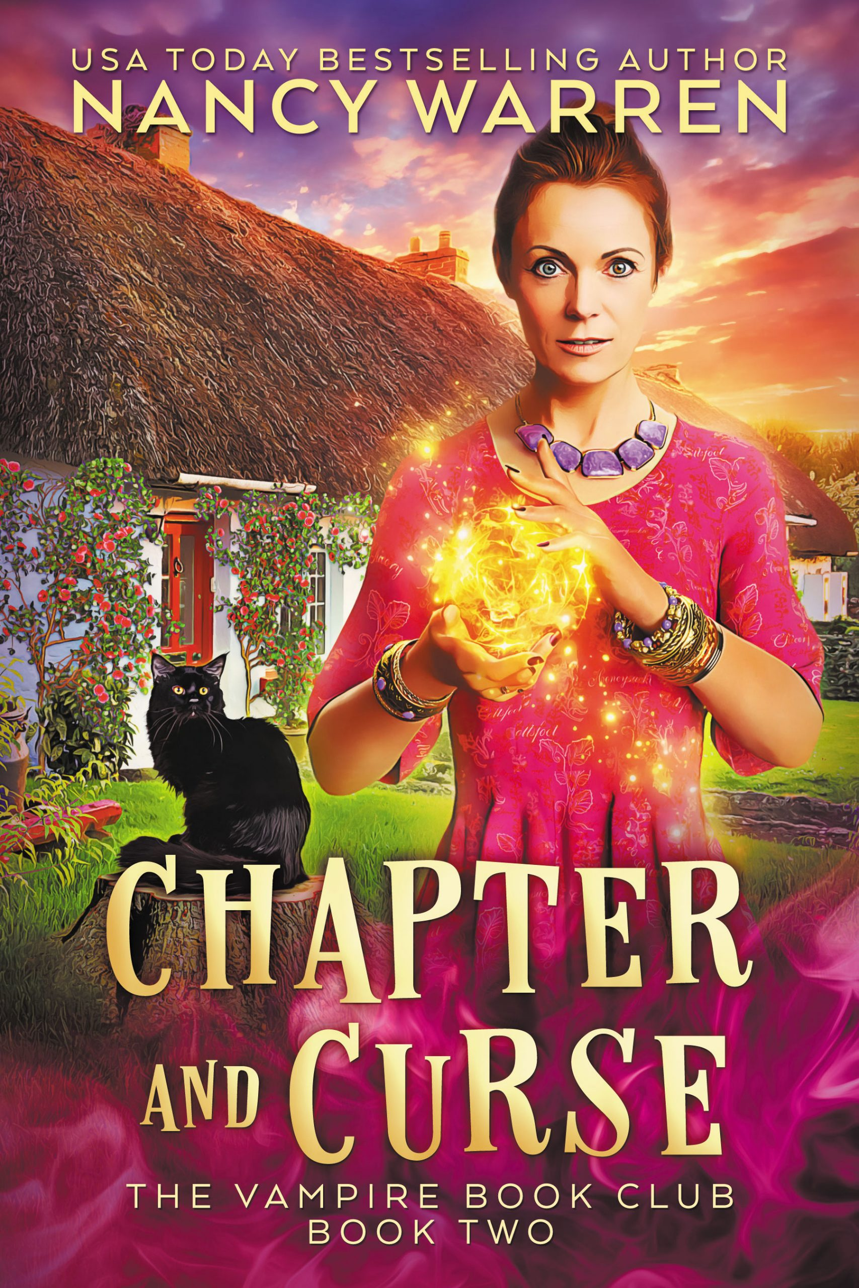 Chapter and Curse - Nancy Warren - cover