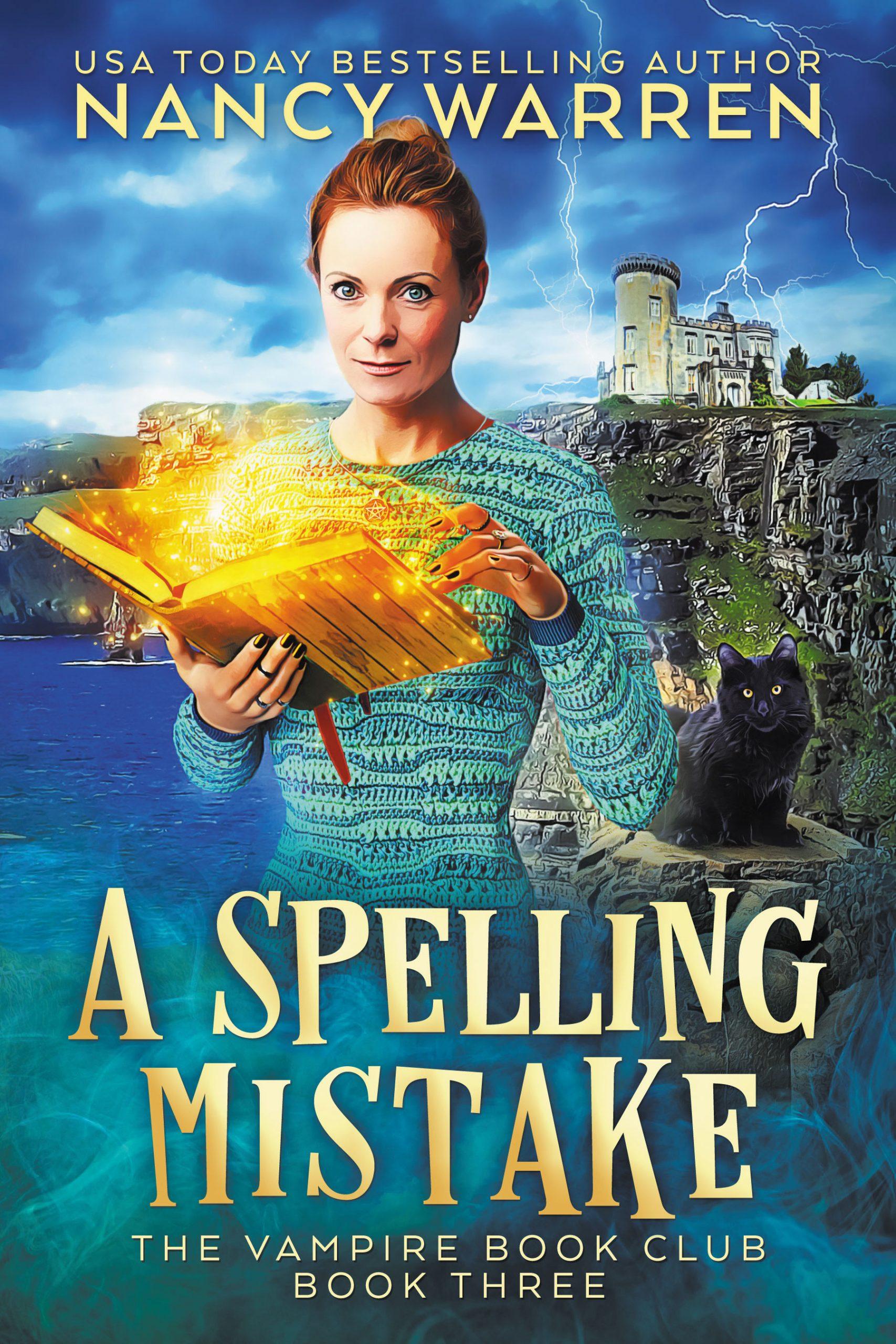 A Spelling Mistake - Nancy Warren - cover