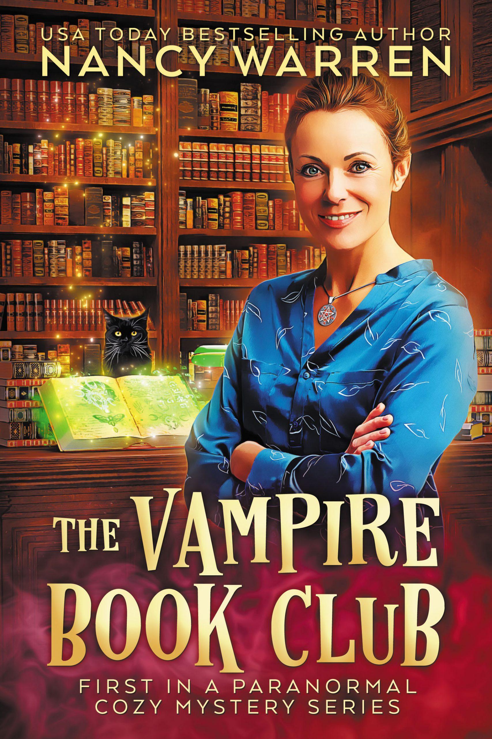 The Vampire Book Club - Nancy Warren - cover