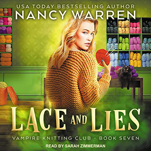 Lace and Lies Audiobook Cover by Nancy Warren