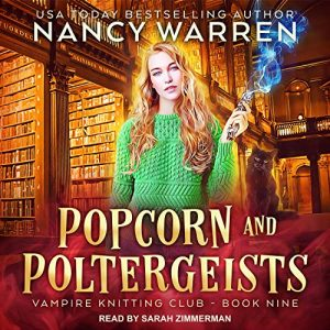 Popcorn and Poltergeists (Book 9) Audiobook